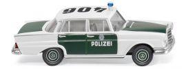 WIKING 086426 Mercedes Benz 220 S Polizeiauto | Blaulichtmodell 1:87 online kaufen