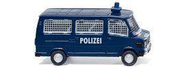 WIKING 086431 MB 207D Bus Polizei Blaulichtmodell 1:87 online kaufen