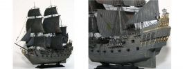 ZVEZDA 9037 Piratenschiff Black Pearl | Jack Sparrow | Bausatz 1:72 online kaufen