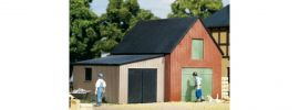 Auhagen 11408 Lagerschuppen mit Garage | Bausatz Spur H0 kaufen