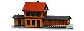 BUSCH 1468 Bahnhof Kupferzell Gebäude-Bausatz Spur H0 kaufen