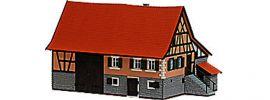 BUSCH 1504 Bauernhaus Schwarzenweiler Gebäude-Bausatz Spur H0 kaufen