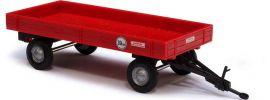 ausverkauft | BUSCH 44977 Landwirt.Anhänger Rot, Landwirtschaftsmodell 1:87 kaufen