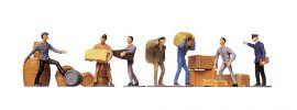 FALLER 151001 Transportarbeiter Figuren mit Ladegut Spur H0 kaufen
