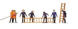FALLER 151006 Feuerwehrleute/Zubehör | 7 Miniaturfiguren |  Spur H0 kaufen