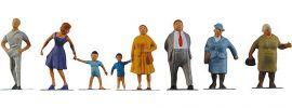 FALLER 158004 Passanten | 8 Miniaturfiguren | Spur Z kaufen
