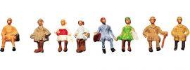 FALLER 158021 Sitzende Miniaturfiguren | 8 Stück |  Spur Z kaufen