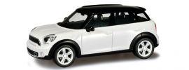 ausverkauft | herpa 024761-003 Mini Countryman (R60), light white, Modellauto 1:87 kaufen
