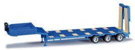 ausverkauft | herpa 076371-003 Goldhofer Semitieflader 3achs enzianblau Auflieger-Modell 1:87 kaufen