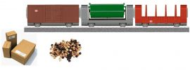 märklin 44100 Güterwagen-Set myworld 3+ Spur H0 kaufen
