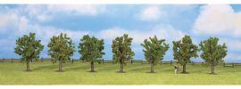 NOCH 25090 Obstbäume grün | Höhe 8 cm | 7 Stück | für alle Spurweiten kaufen