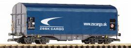 PIKO 37722 Schiebeplanwagen ZSSK Cargo SK Spur G kaufen