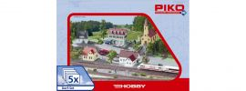 ausverkauft | PIKO 61925 Dorf-Set 5 tlg. | Bausatz | Spur H0 kaufen