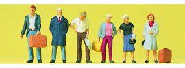 Preiser 10504 Stehende Reisende | 6 Miniaturfiguren Spur H0 kaufen