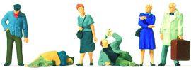 Preiser 10592 Am Bahnhof | 6 Miniaturfiguren Spur H0 kaufen
