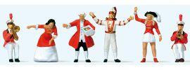 Preiser 24640 Auf dem Prinzenwagen | 6 Miniaturfiguren | Spur H0 kaufen