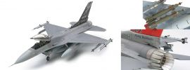 TAMIYA 61101 Lockheed F-16C Flugzeug Bausatz 1:48 kaufen