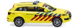 WIKING 007117 Audi Q7 'Notarzt' (NL), Blaulichtmodell 1:87 kaufen