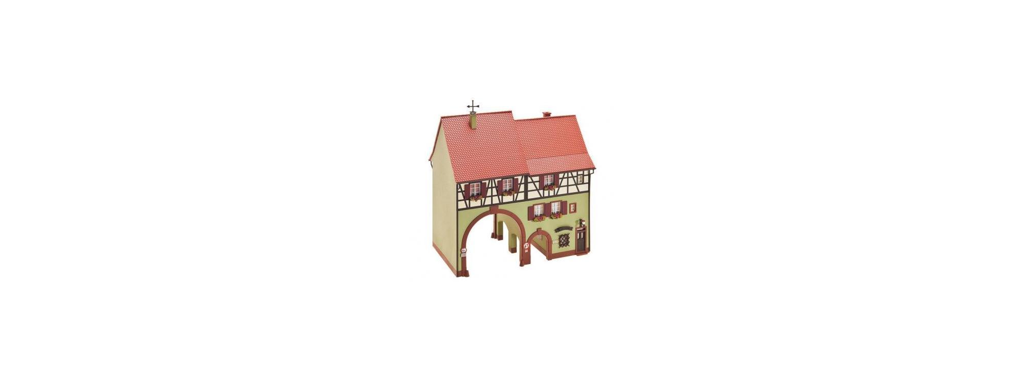 FALLER 130499 Stadthaus Niederes Tor Bausatz H0