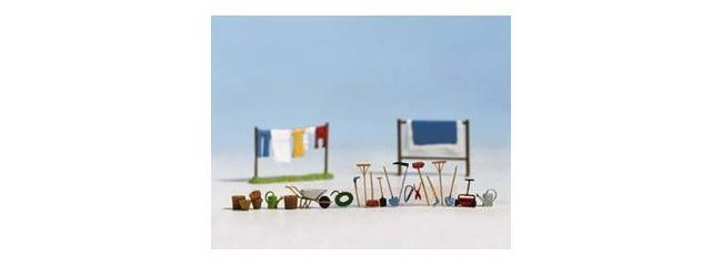 Noch 14800 Set Gartenzubehor Spur H0 Online Kaufen Bei Modellbau