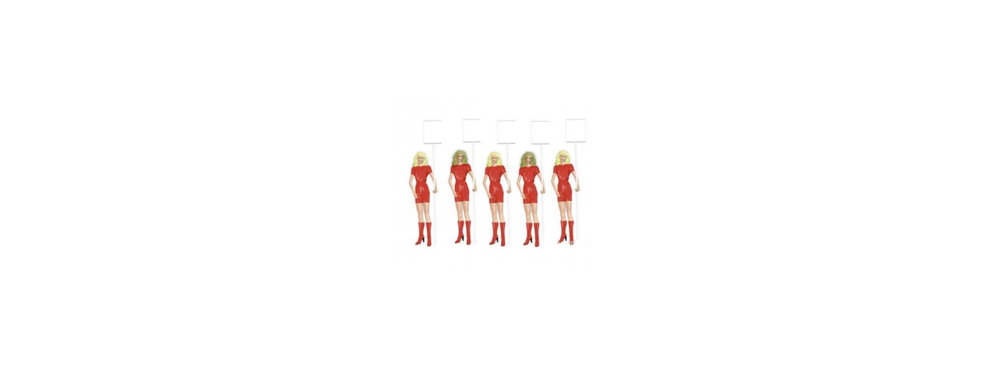 Carrera Figurensatz Gridgirls 1:32-21113