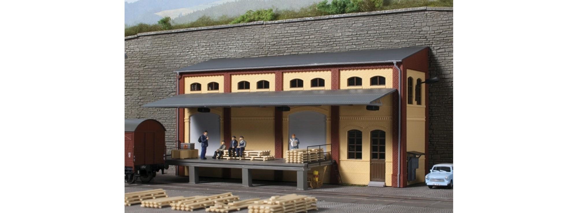 Auhagen 11436 Lagerhaus Halbrelief Bausatz Spur H0 Online