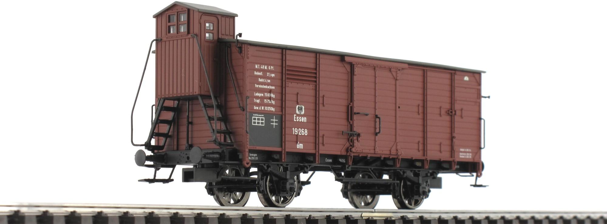 BRAWA H0 48285 Güterwagen G10 KaldeweI NEUWARE MESSEMODELL 2013