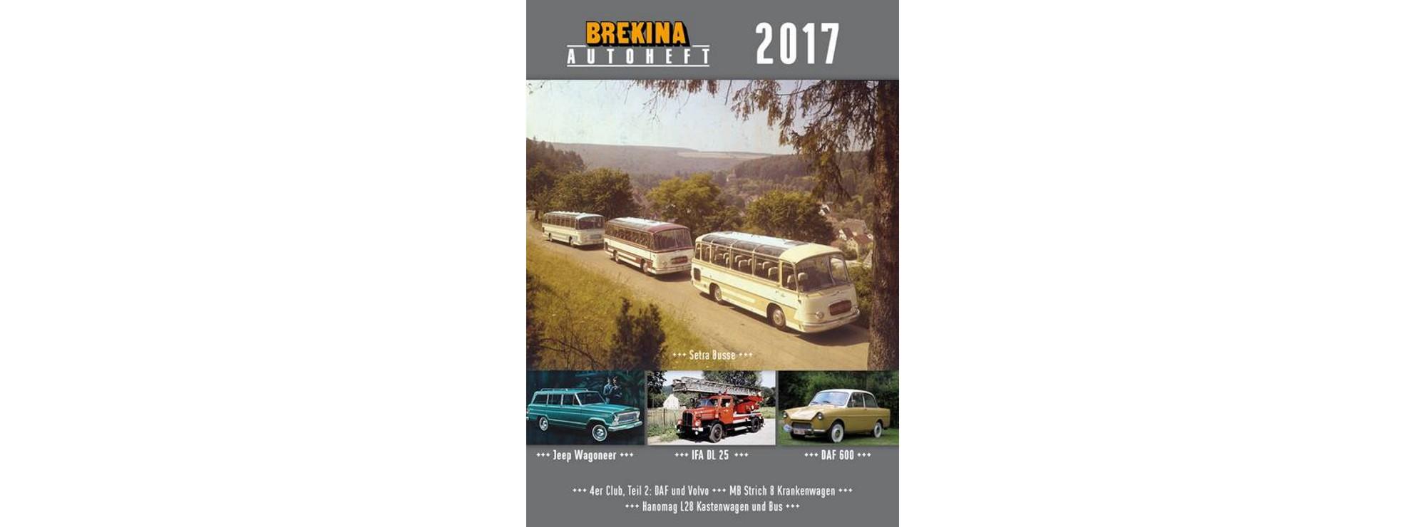 Brekina Autoheft 2017