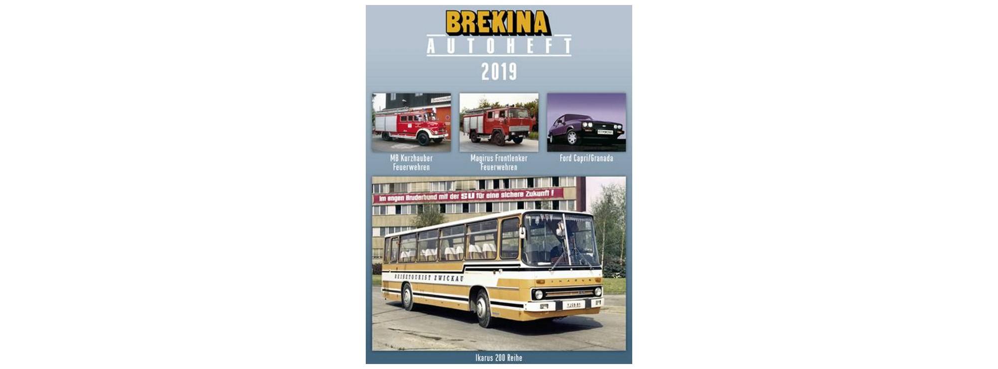 Brekina Autoheft 2019