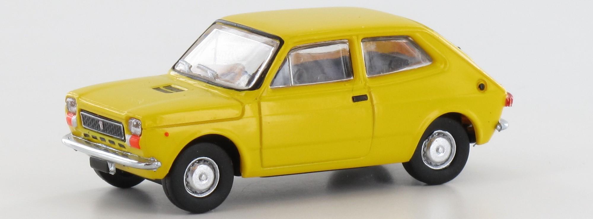 #22506 Brekina Fiat 127 dunkelorange 1:87