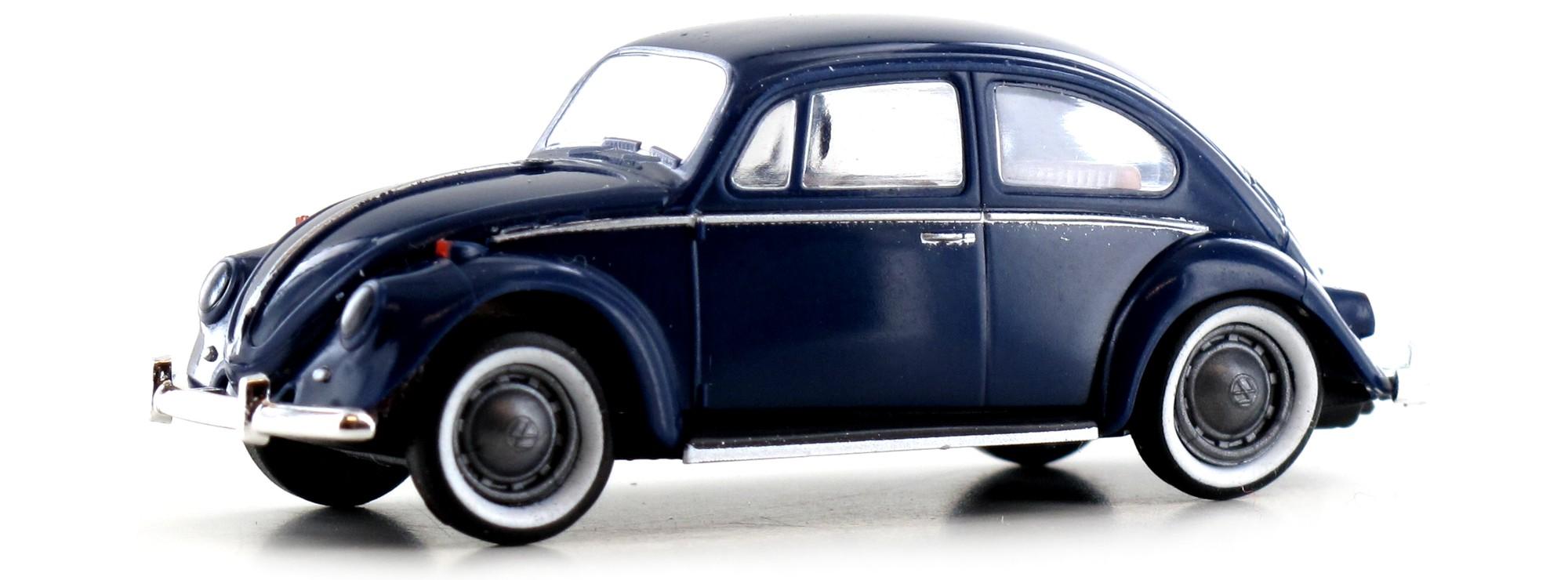 Brekina 25043-1//87 Volkswagen // VW Käfer - Dunkelblau De Luxe Neu