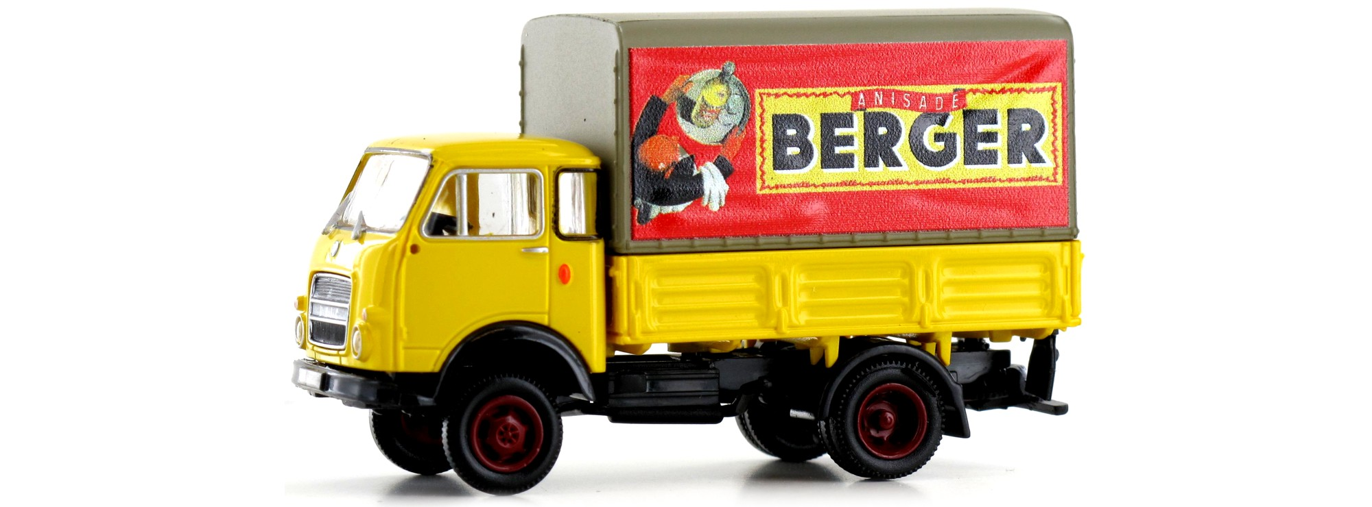 "Brekina 34636-1//87 OM UNIC PP /""Berger/"" Neu"