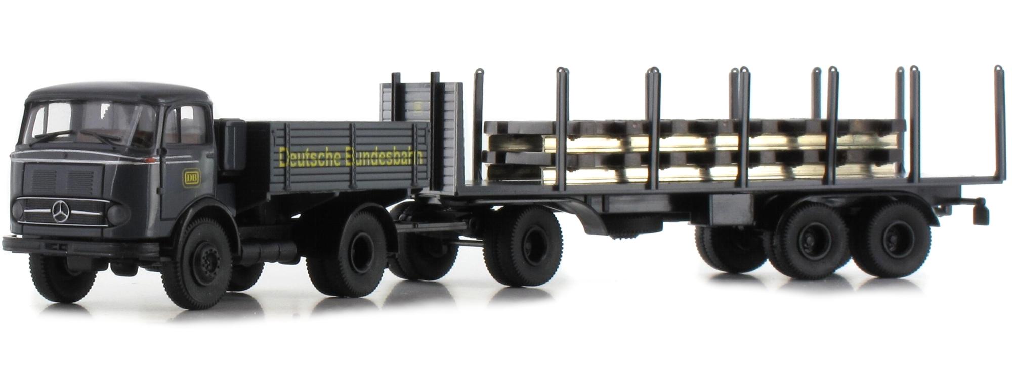 MB LPS 338 DB mit Schienen Brekina Modell Neuheit