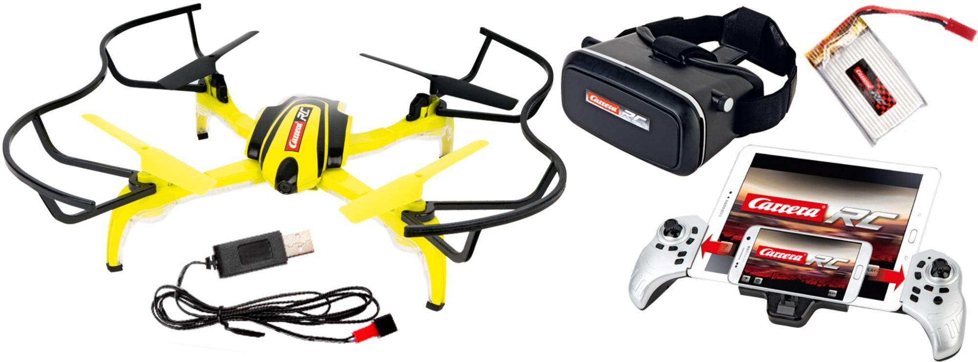 Carrera RC Quadrocopter HD Next mit 720p Kamera und Brille 503019 Neu
