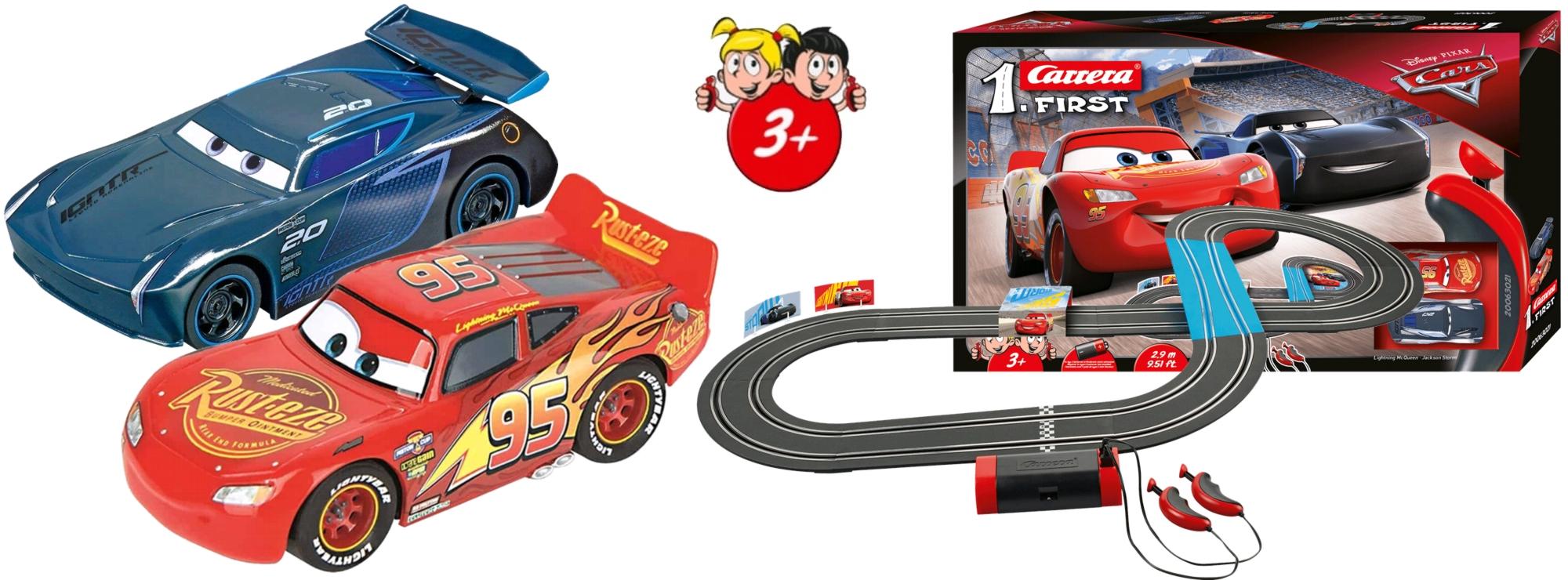 Carrera 63021 First Disney Pixar Cars Autorennbahn Ab 3 Jahren