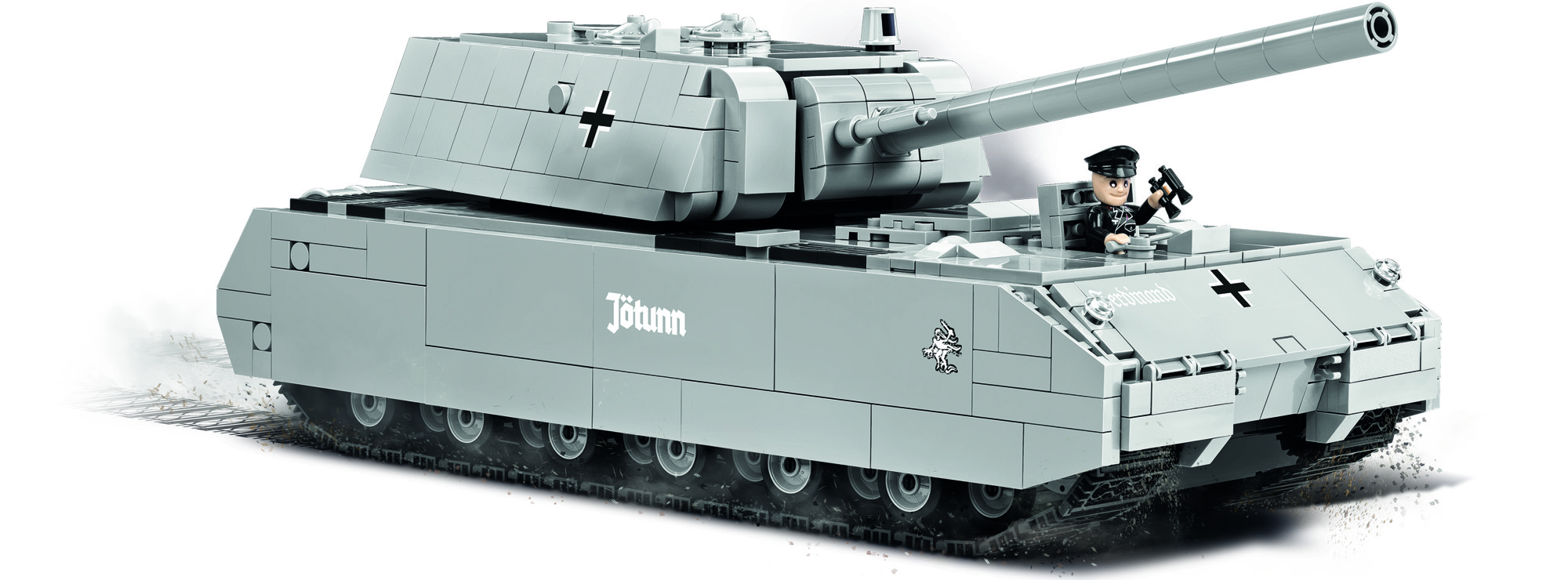 Cobi 3024 Pz Kpfw Viii Maus World Of Tanks Panzer Baukasten