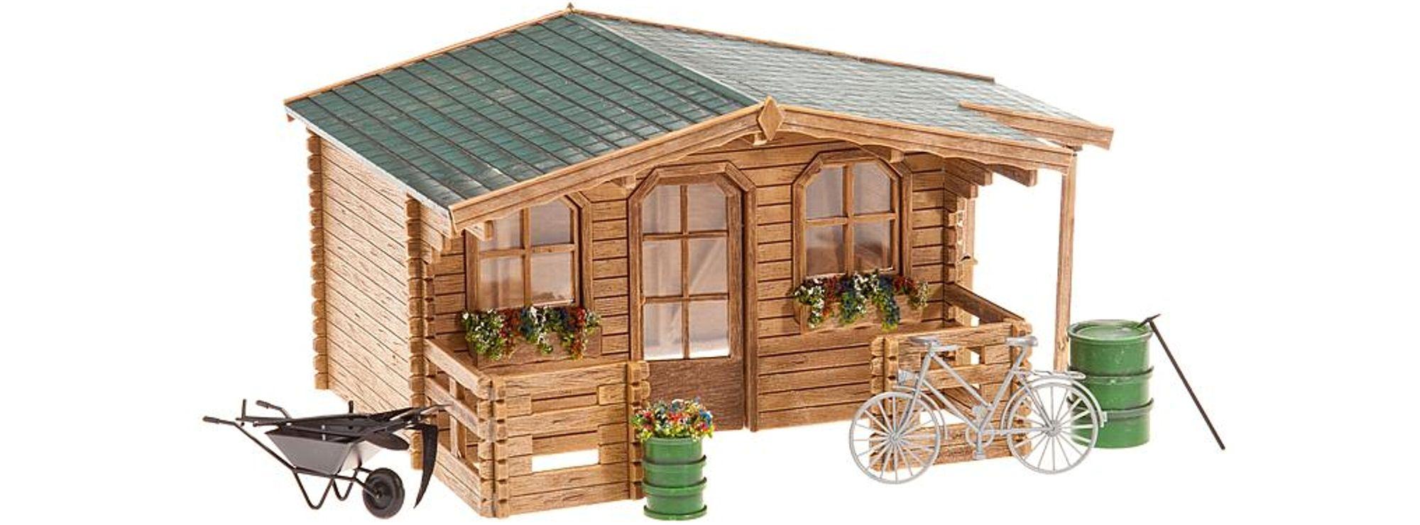 Victorianisches Gartenhaus Puppenhauszubehör Weiß Mwd