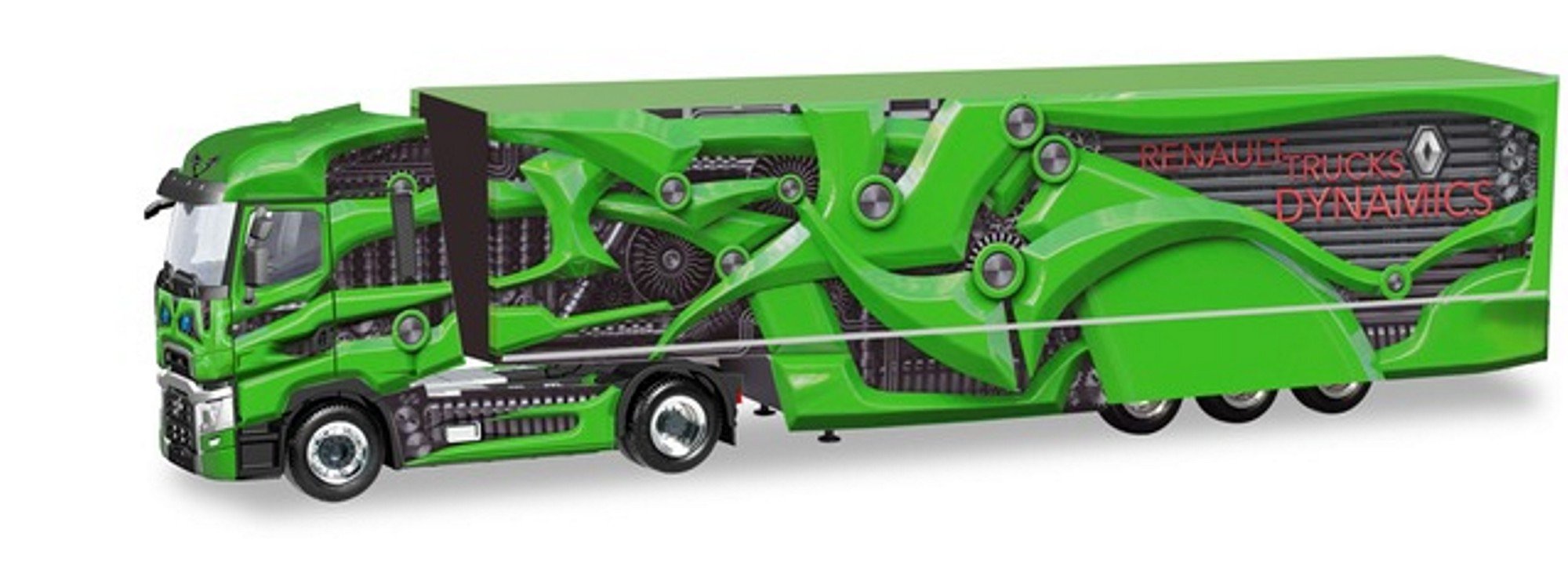 1:87 #310796 Herpa Renault Deutschland Promotion Truck Tour de Dynamics