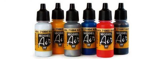 6 Farben Herpa Airbrush Farbenset