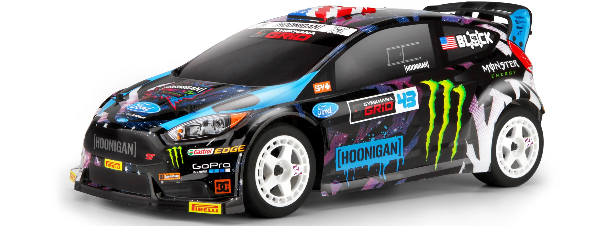 Ausverkauft hpi h115383 ken block ford fiesta st rx43 2015 wr8 flux rc auto