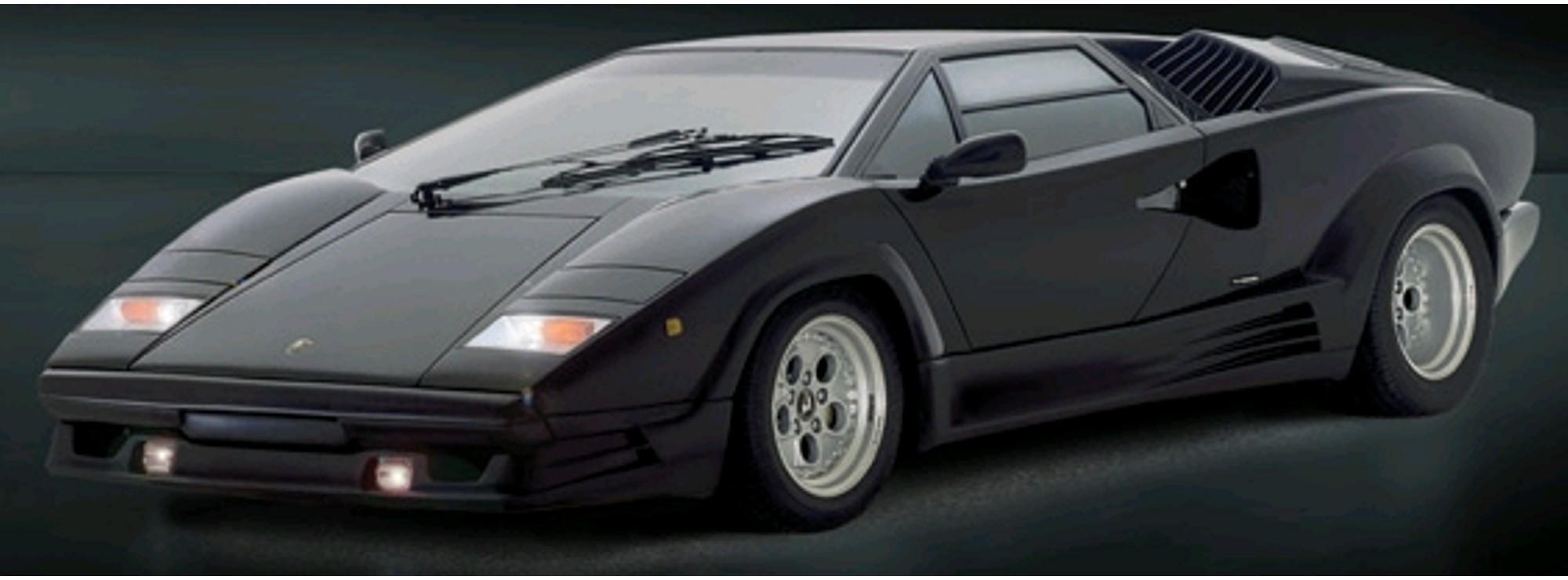 Italeri 3684 Lamborghini Countach 25th Anniversary Auto Bausatz 1