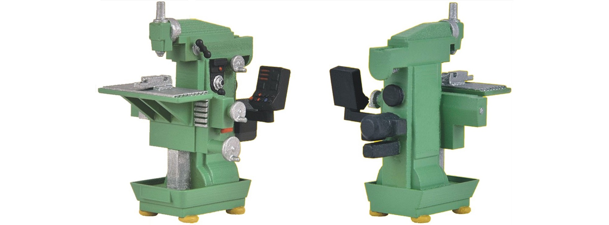 Kibri 38671 Fertigmodell H0 Fräsmaschine