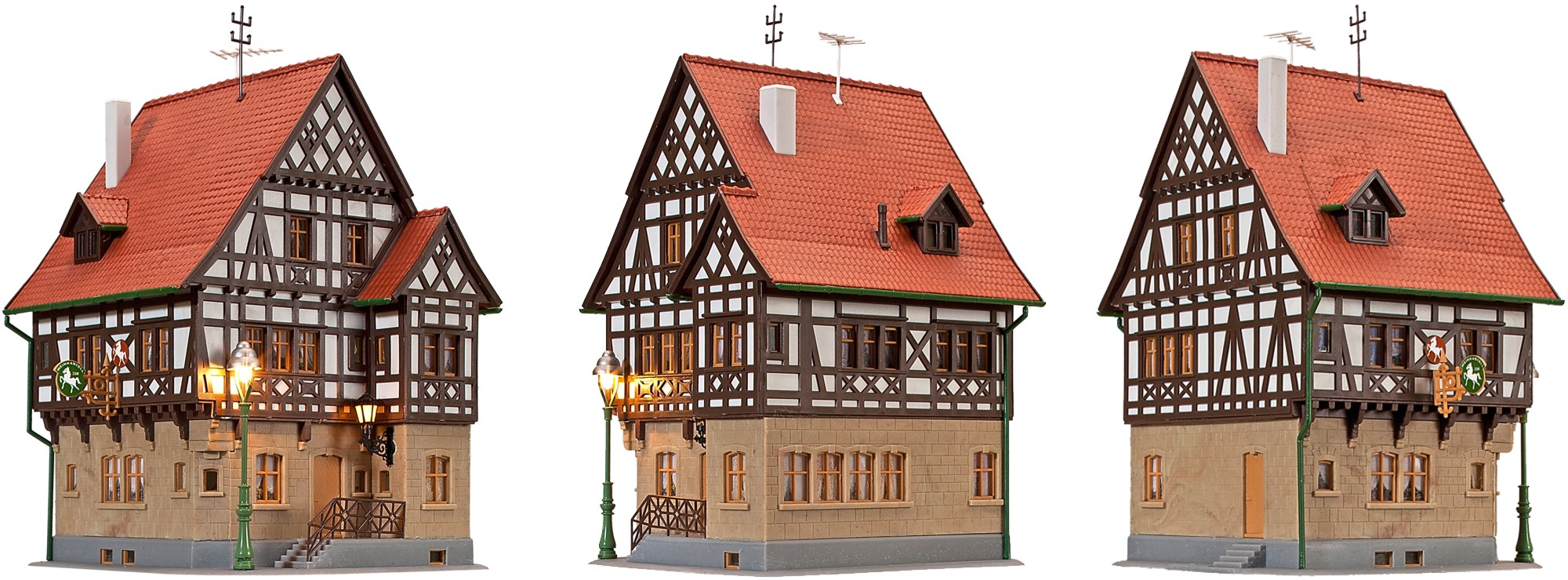 Kibri 38744 H0 Gasthaus Rößle Markgräfler Land
