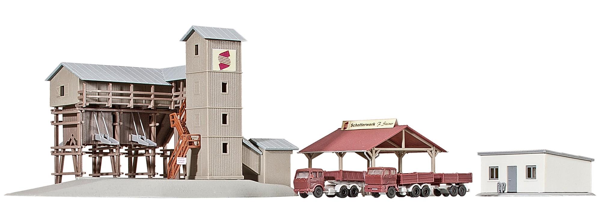 Kibri Z 36603 Schotterwerk Steiner   Messepreis Bausatz Neuware