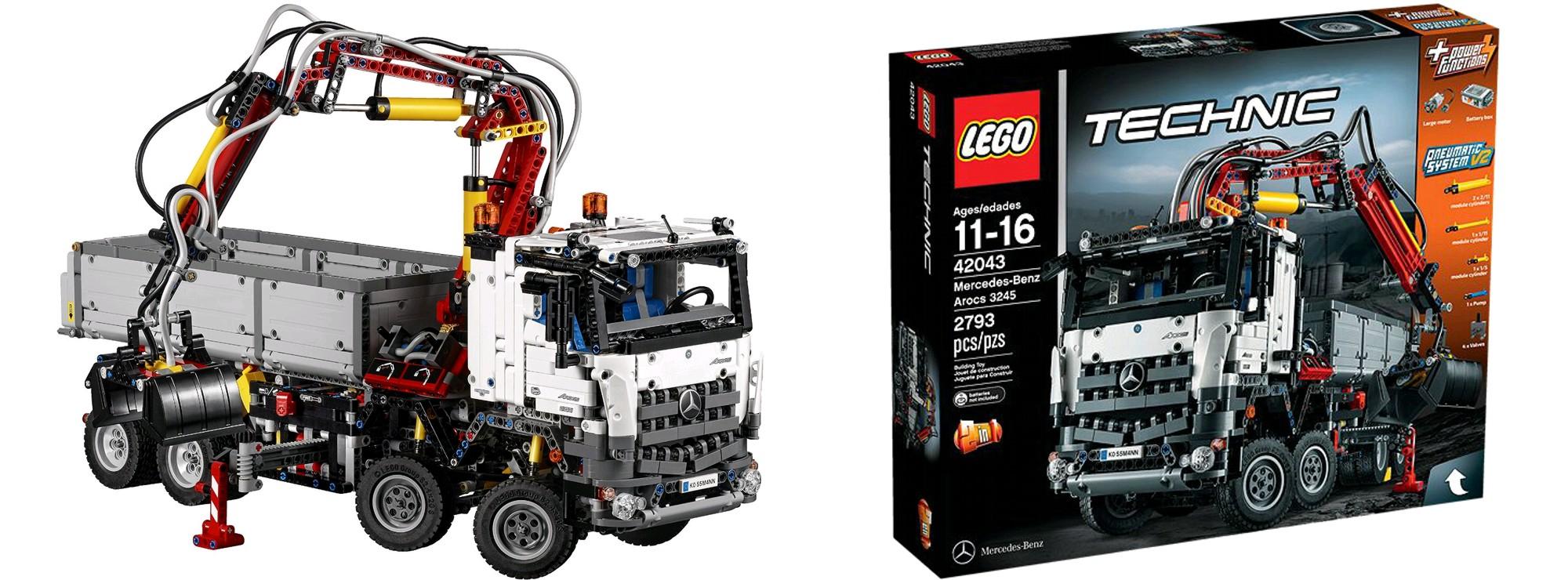 Ausverkauft Lego 42043 Mercedes Benz Arocs 3245 Lego Technic