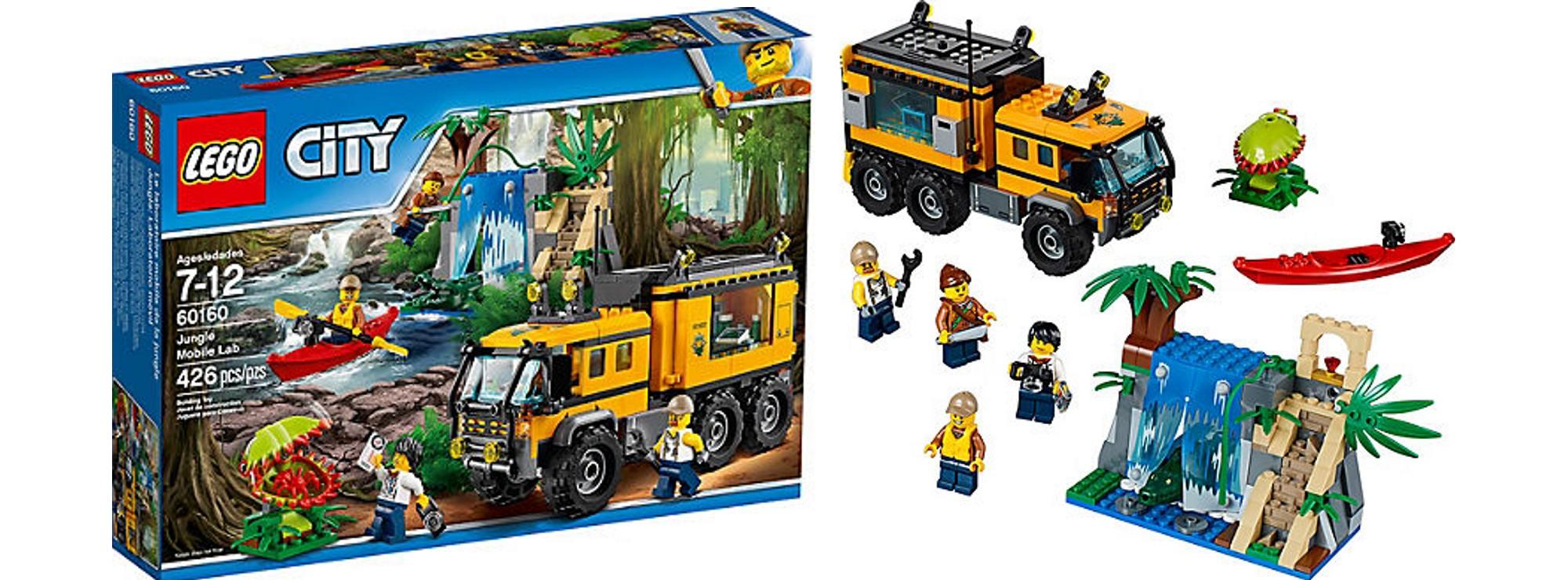 An Ab 7 Jahre Labor Mobile Lego City 60160 jungla