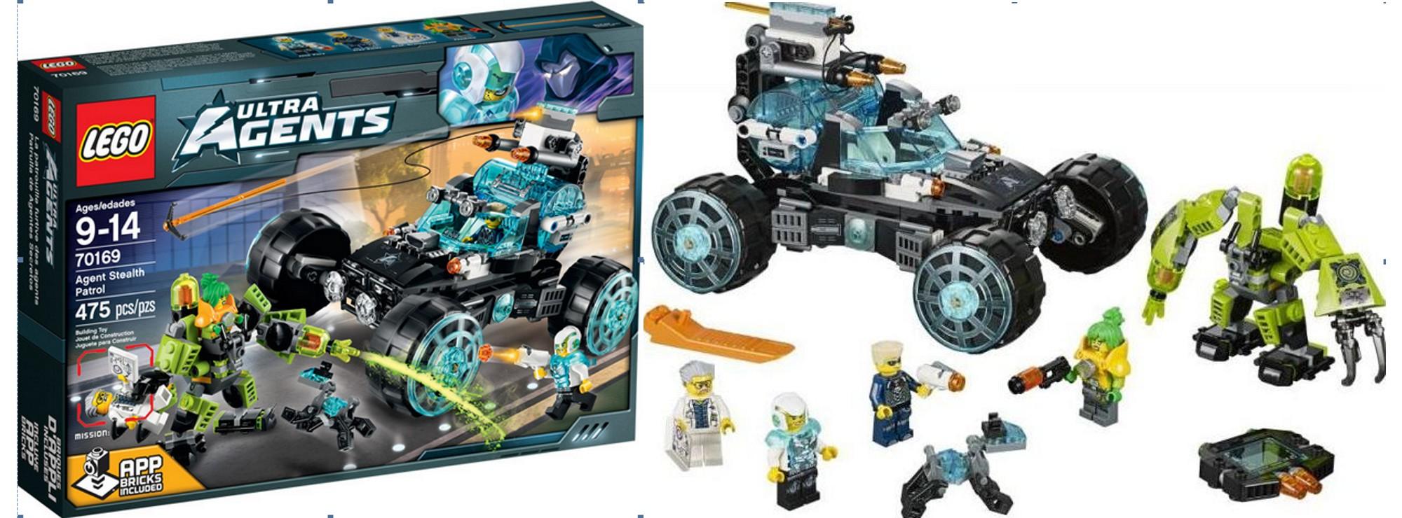 LEGO 70169 Ultra Agents Geheimagenten im Geheimeinsatz LEGO Baukästen & Sets