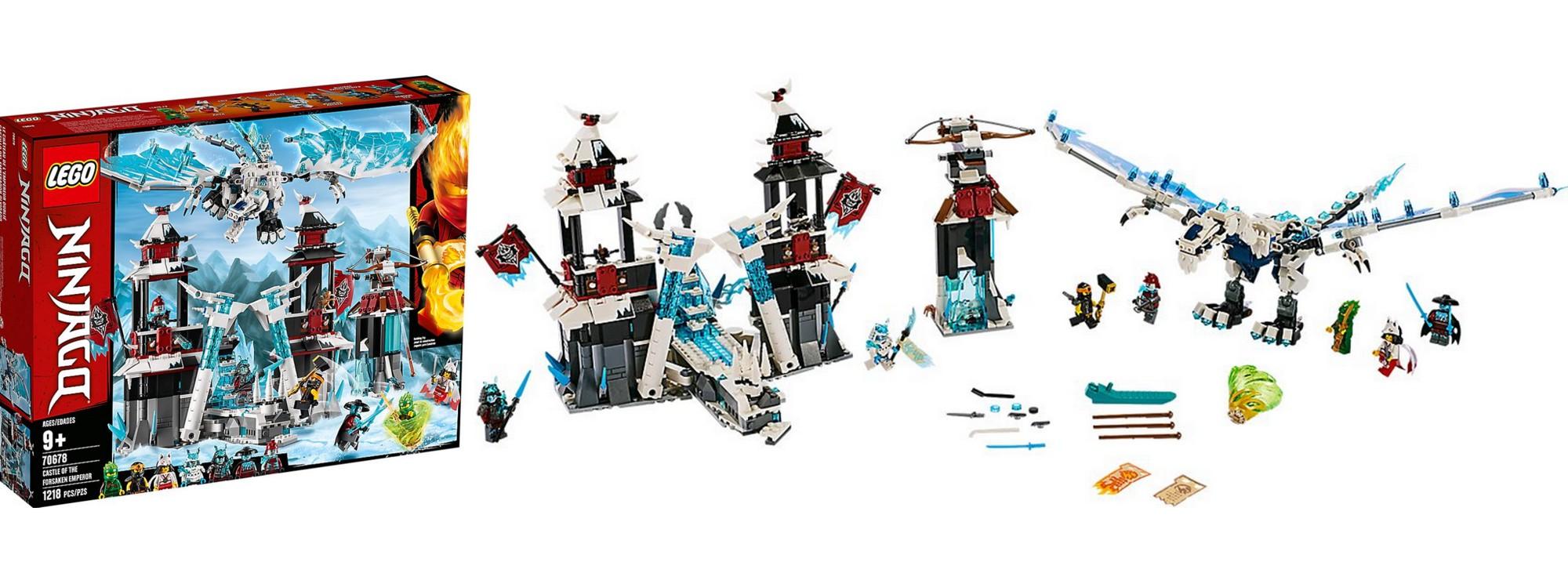 Lloyd Cole Akita Eis-Kaiser Ninja LEGO NINJAGO 70678 Festung im ewigen Eis