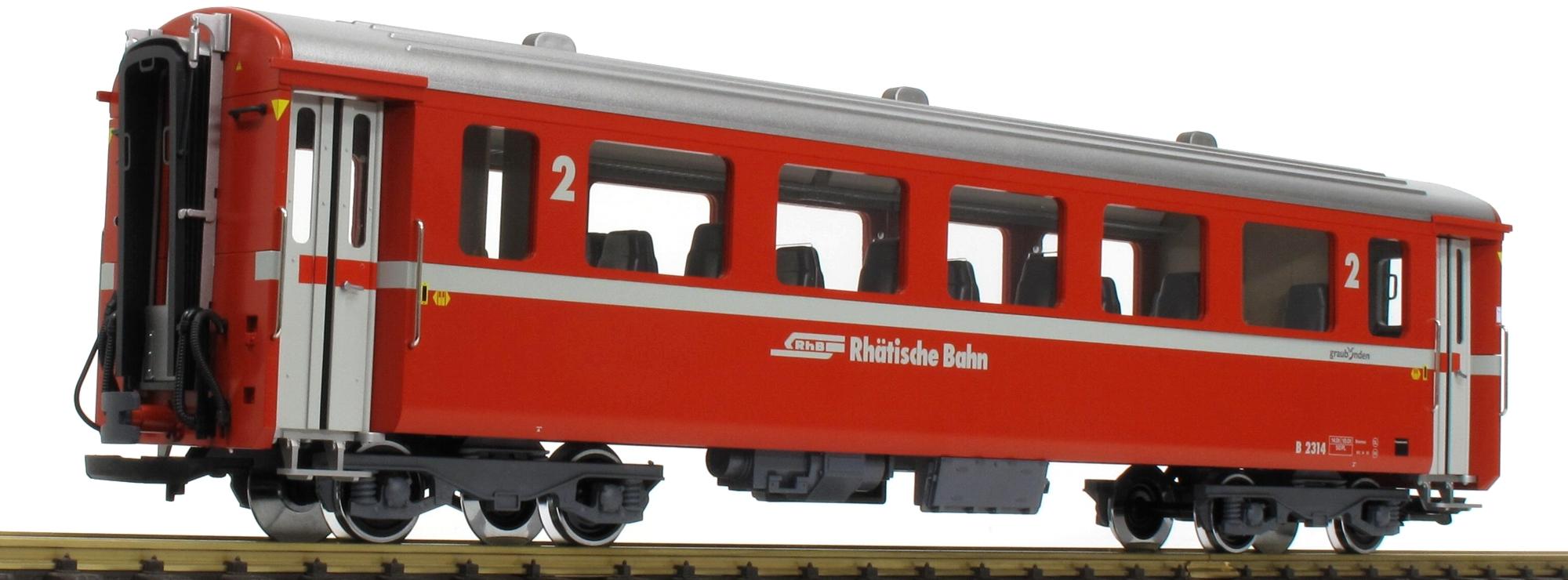 LGB 30676 RhB Schnellzugwagen B 2314 Spur G