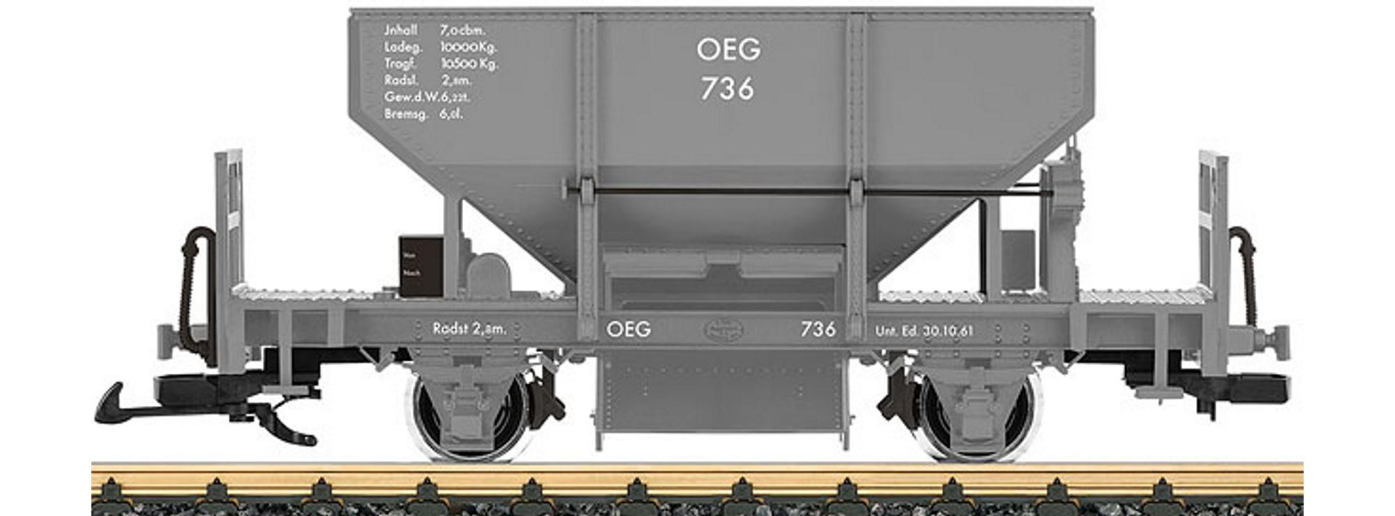 LGB 43411 OEG Schotterwagen Spur G